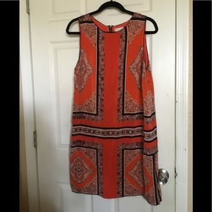 Anthropologie Maeve silk print dress sz.14 $35